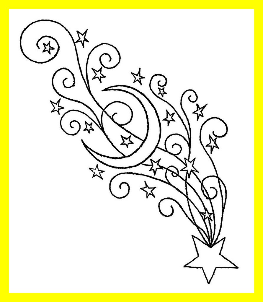 891x1022 Fascinating Shooting Star Drawing Clip Art On Pics Of Moon