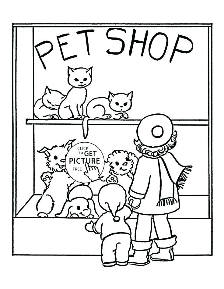 736x948 Pet Shop Coloring Pages Free Free Puppy Coloring Pages Pet Shop