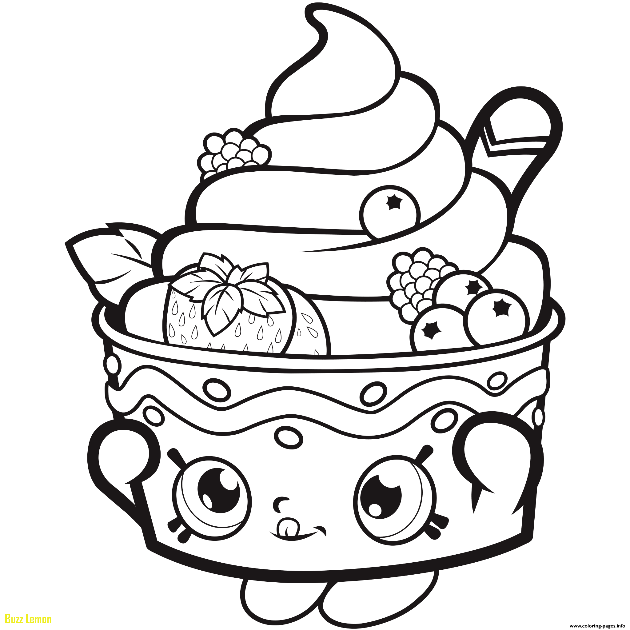 2048x2048 Fresh Coloring Page Shopkins Buzz Coloring
