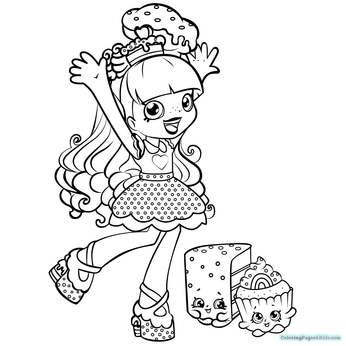 1200x1200 Shopkins Shoppies Coloring Pages Coloring Pages For Kids