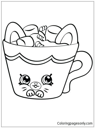 384x519 Shopkin Coloring Pages Hot Choc Coloring Page Shopkin Coloring