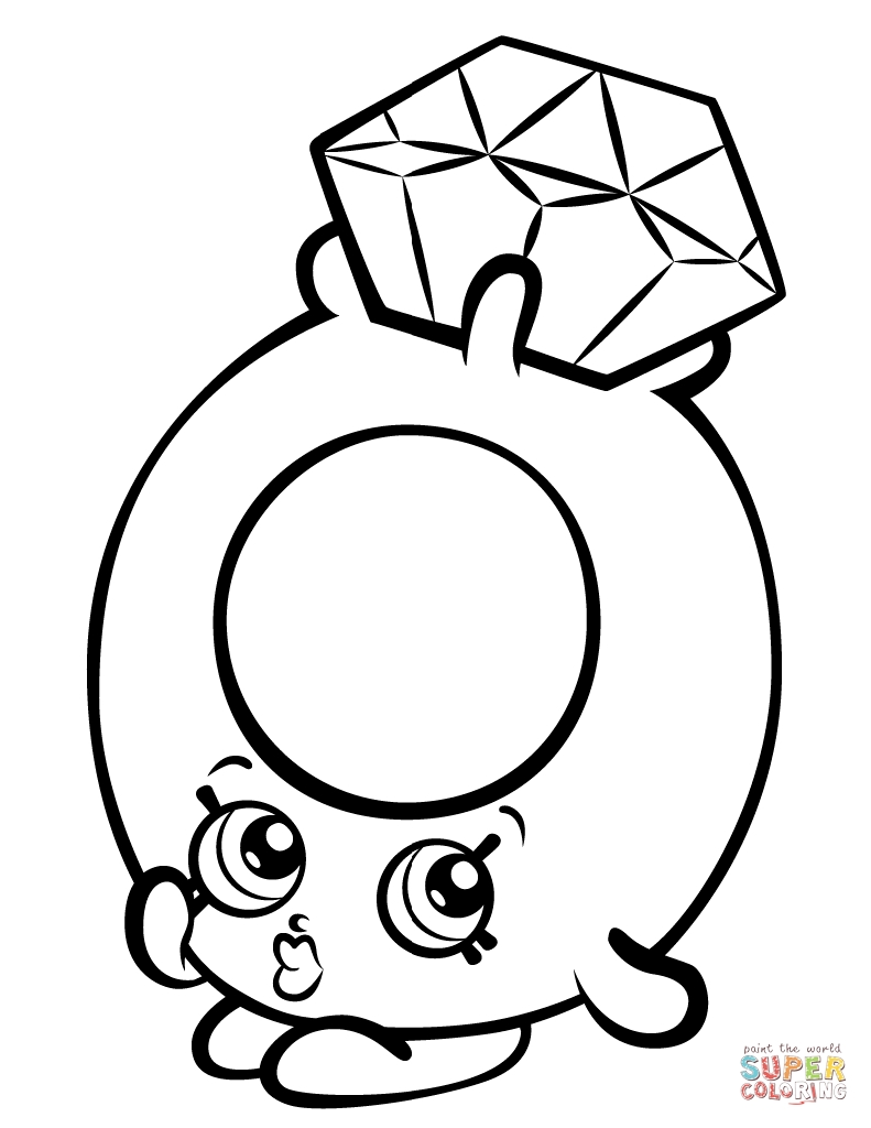 Shopkin Coloring Pages To Print