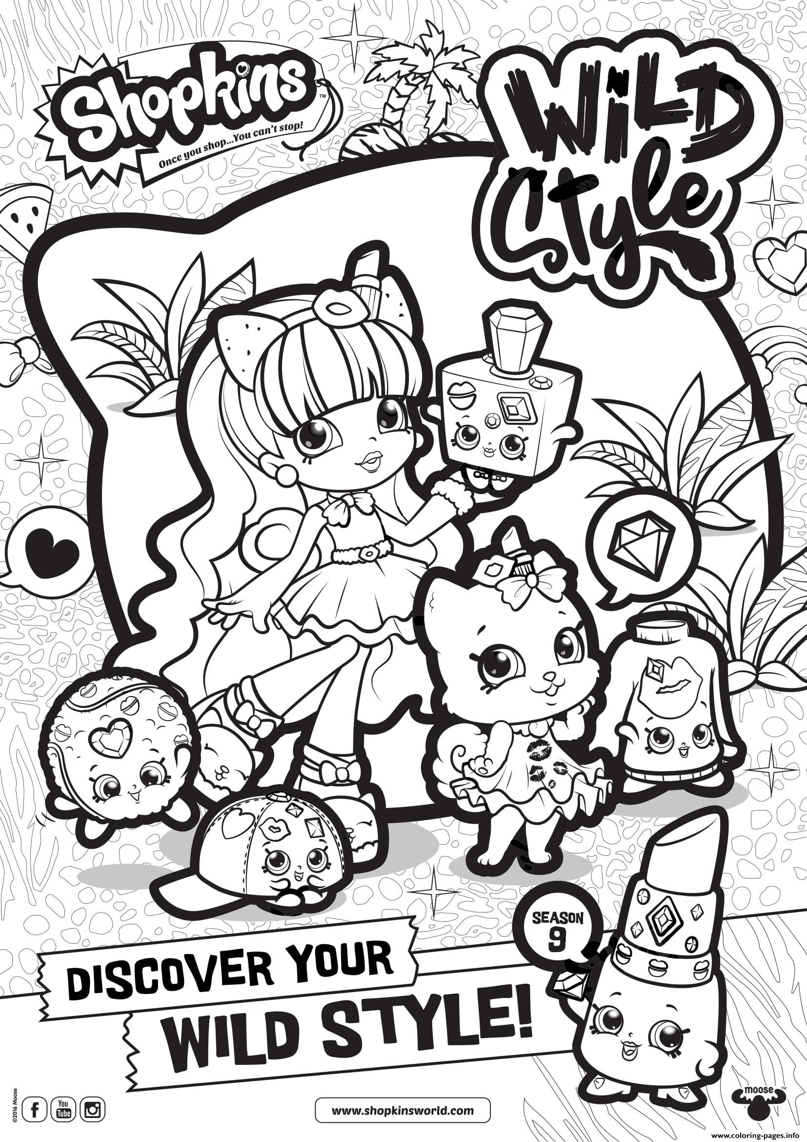 1654x2339 Print Out Coloring Pages Of Shopkins Shopkins Season Wild