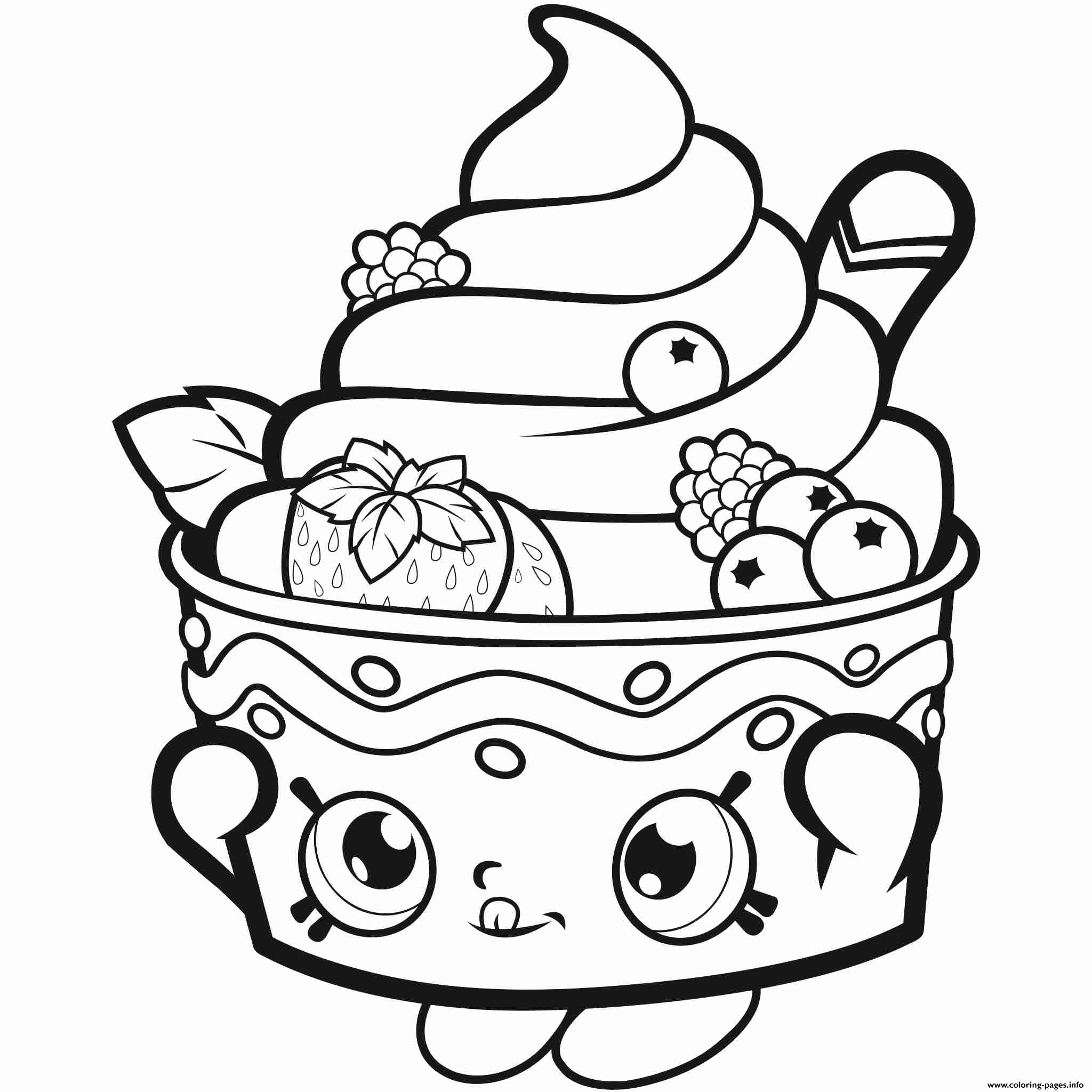 2048x2048 Shopkins Coloring Pages Free Printable Beautiful Shopkin Olegratiy
