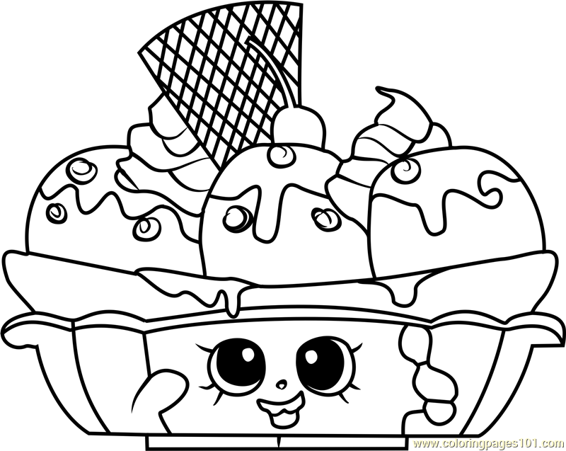 800x637 Shopkins Coloring Pages For Free Shopkins Coloring Pages Pdf Free