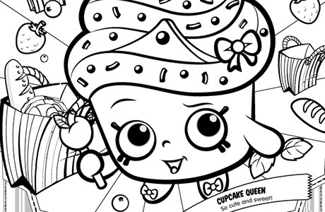 460x300 Shopkins Coloring Pages Printables Shopkins Coloring Pages Free