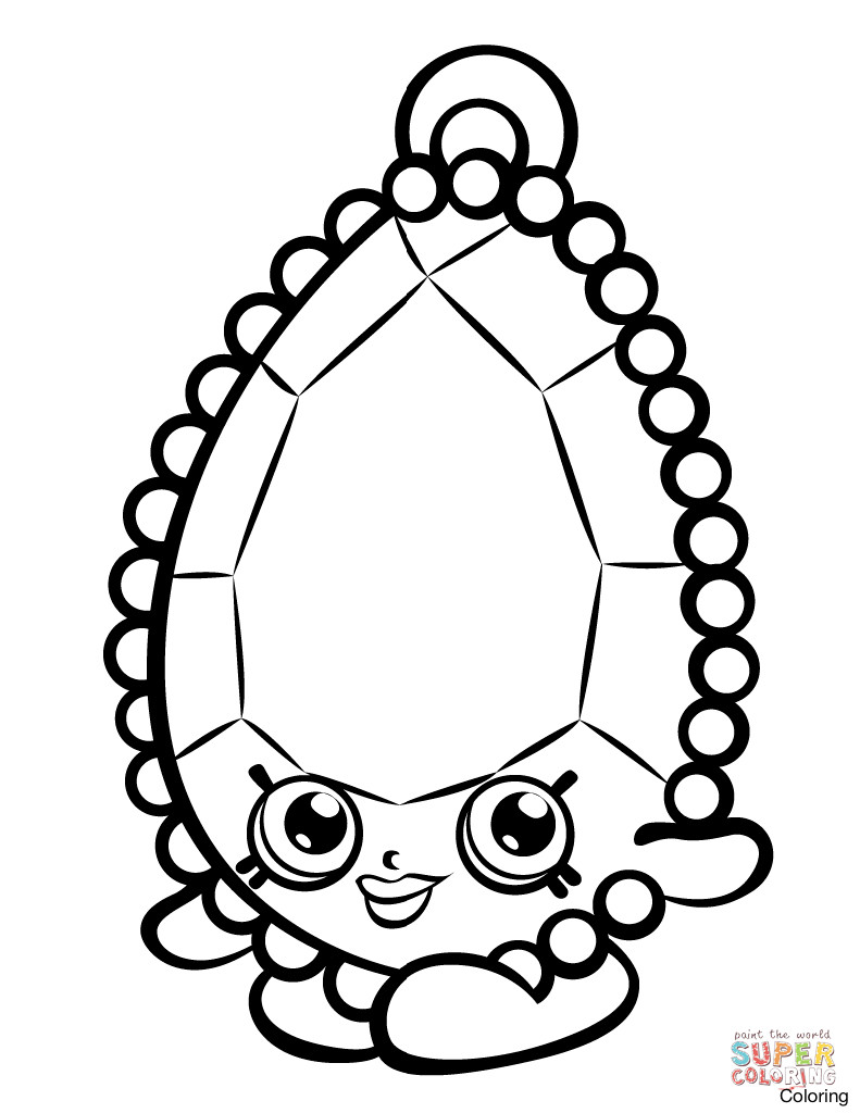 791x1024 Brenda Brooch Shopkin Coloring Page Shopkins Sheet Click The Pages