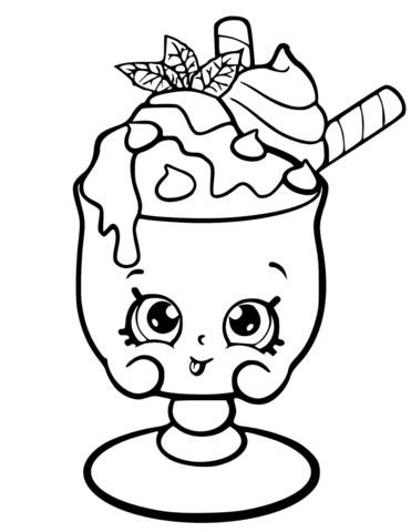 371x480 Choc Mint Charlie Shopkin Coloring Pages For Me