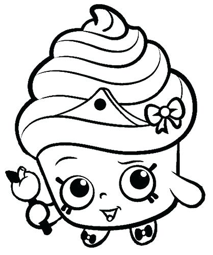 418x500 Coloring Pages Download Free Printable Apple Blossom Shopkin