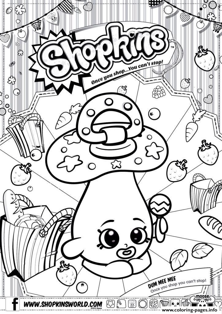 724x1024 Shopkin Coloring Pages That You Can Print Shopkins Download