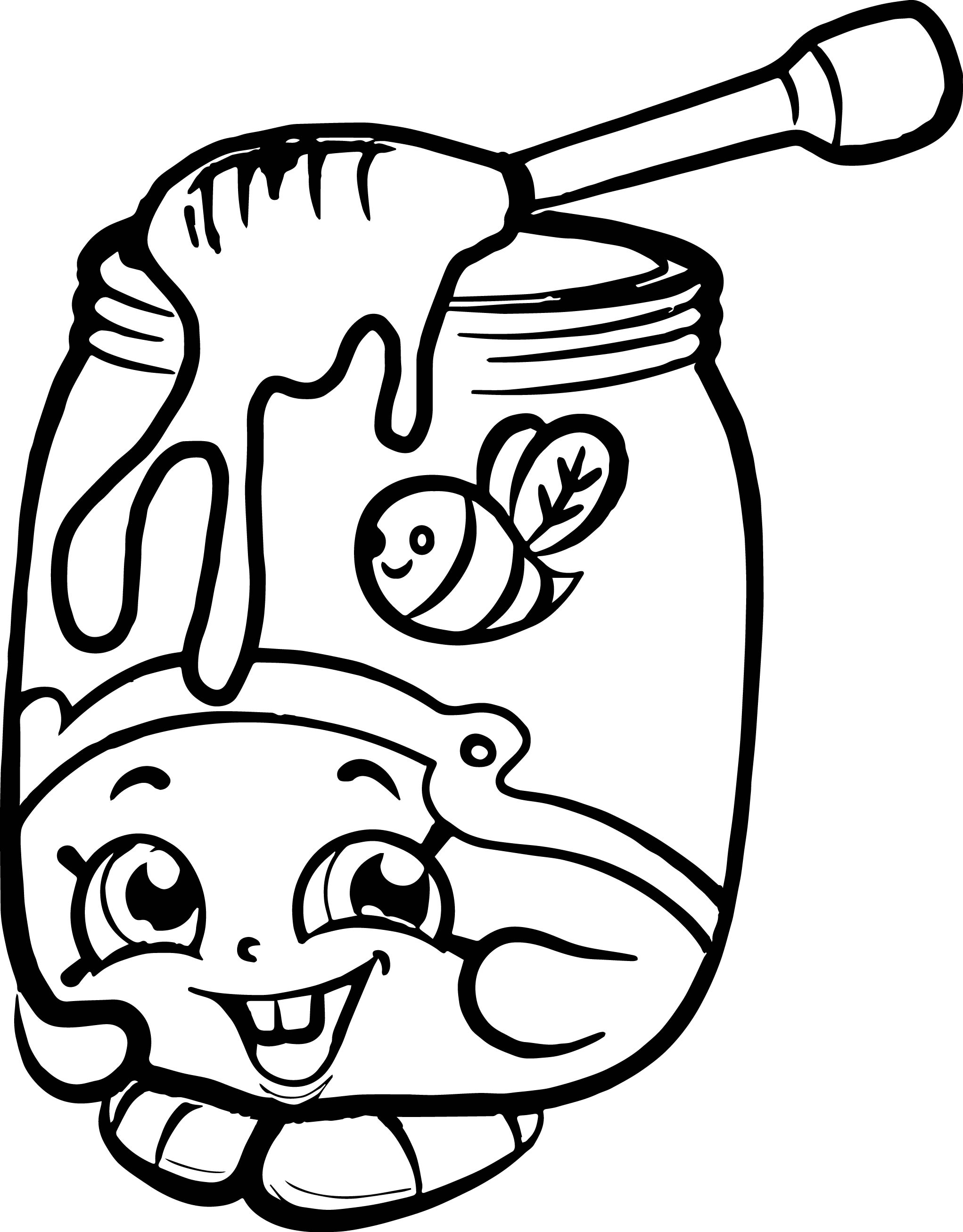 2043x2614 Shopkins Characters Coloring Pages Sneacer Free