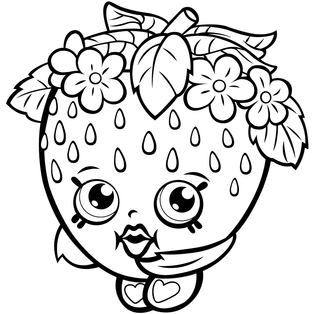 1024x1024 Shopkins Apple Blossom Characters Wobbles Coloring Pages