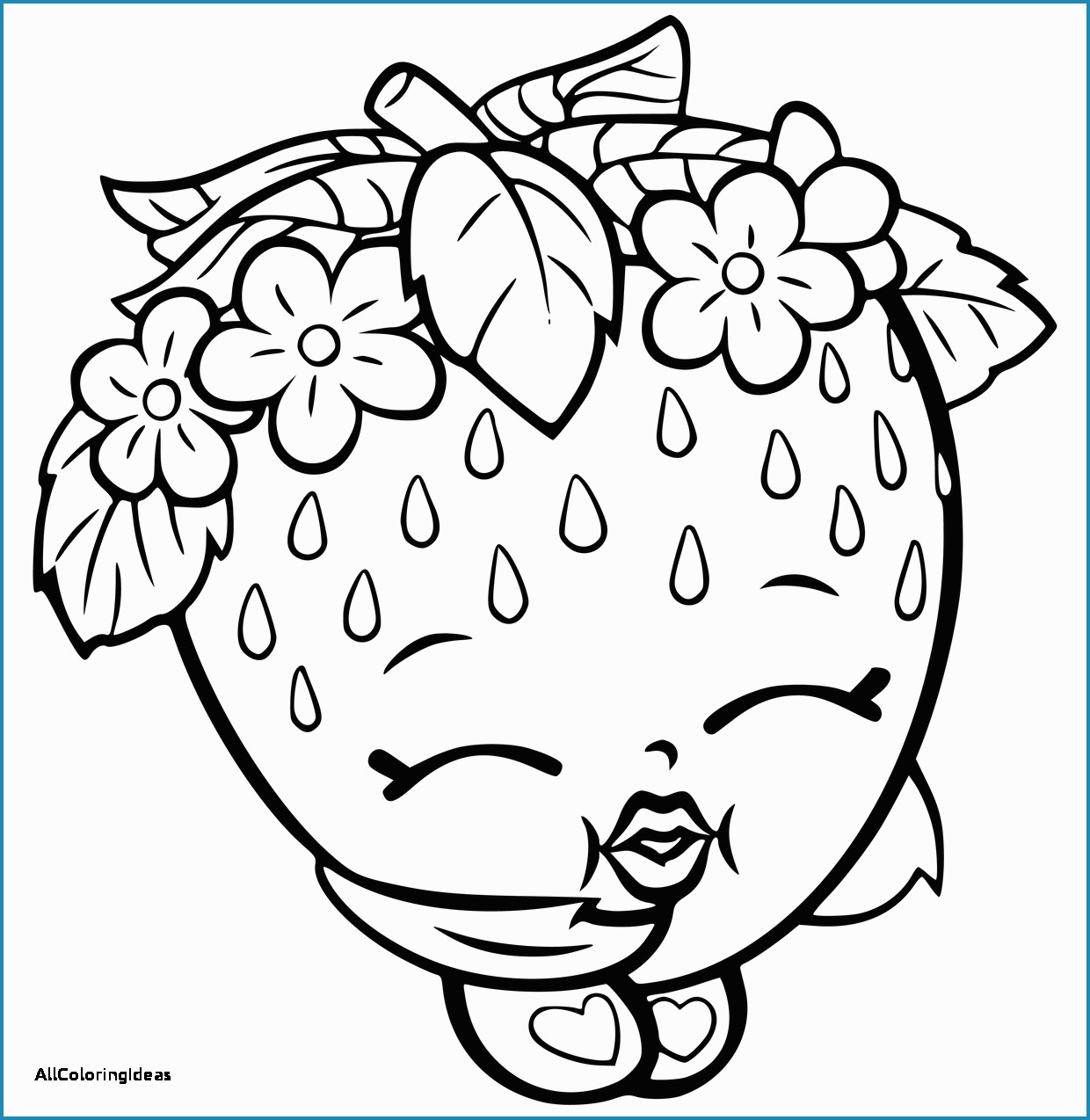 1240x1274 Shopkins Characters Wobbles Coloring Pages Cute Free