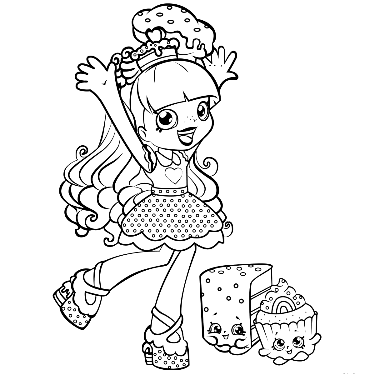 1200x1200 Shopkins Coloring Pages Coloring Pages For Kids
