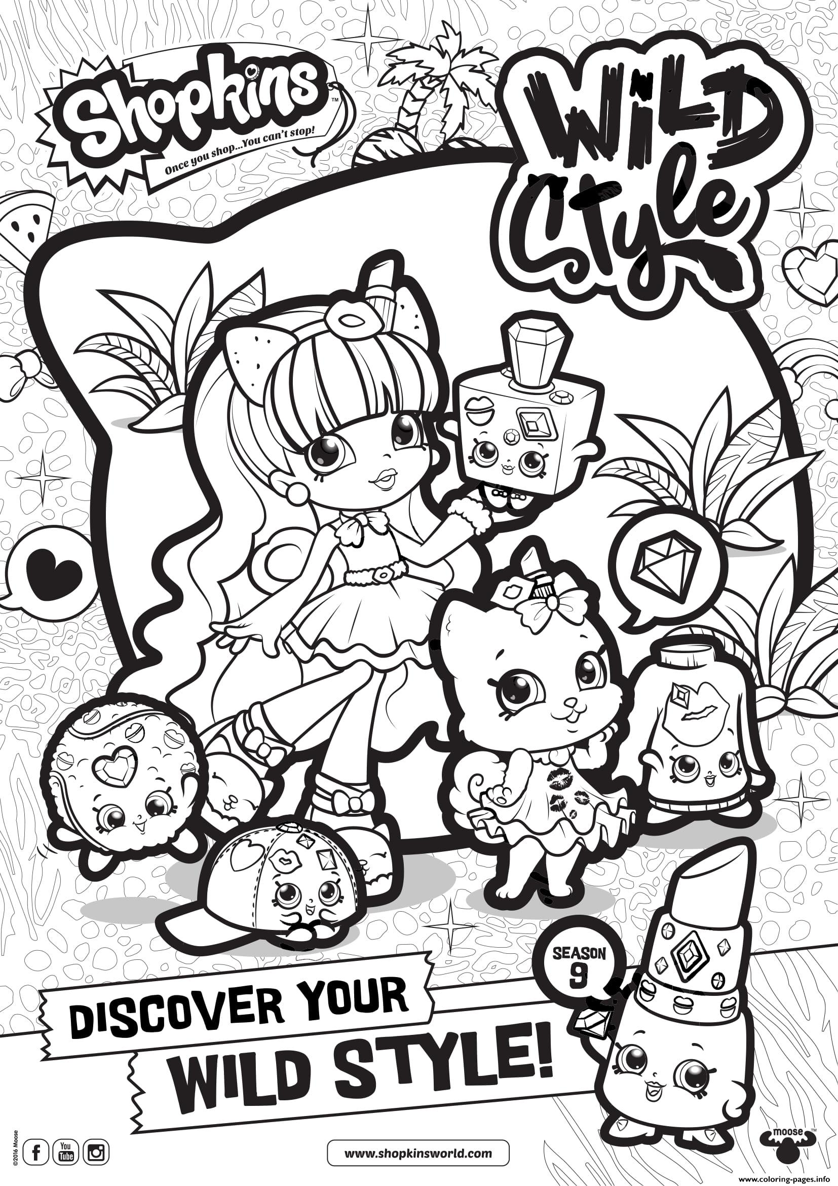 1654x2339 shopkins season wild style coloring pages printable