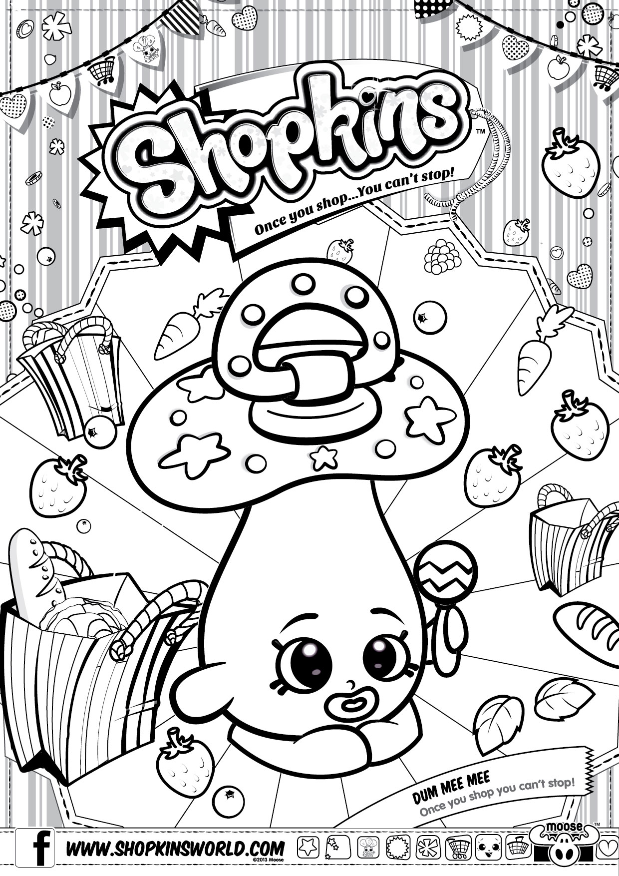 1240x1754 Powerful Shopkins Cupcake Queen Coloring Pages Shopkin Page Free