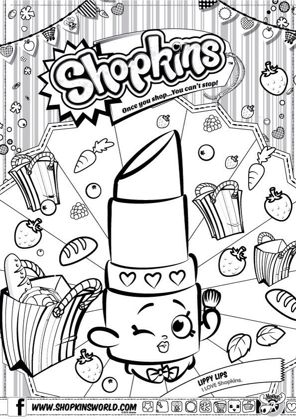 595x842 Shopkin Coloring Pages Elegant Shopkins Coloring Pages Cheeky