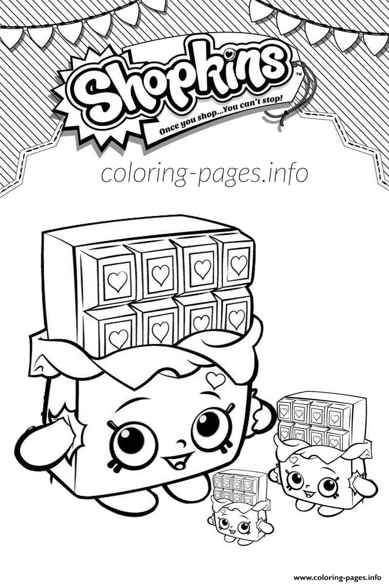 800x1200 Shopkins Coloring Pages