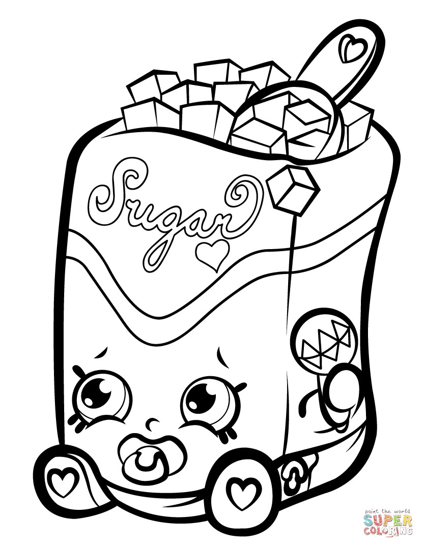 833x1078 Shopkins Coloring Pages Cheeky Chocolate Download Brilliant