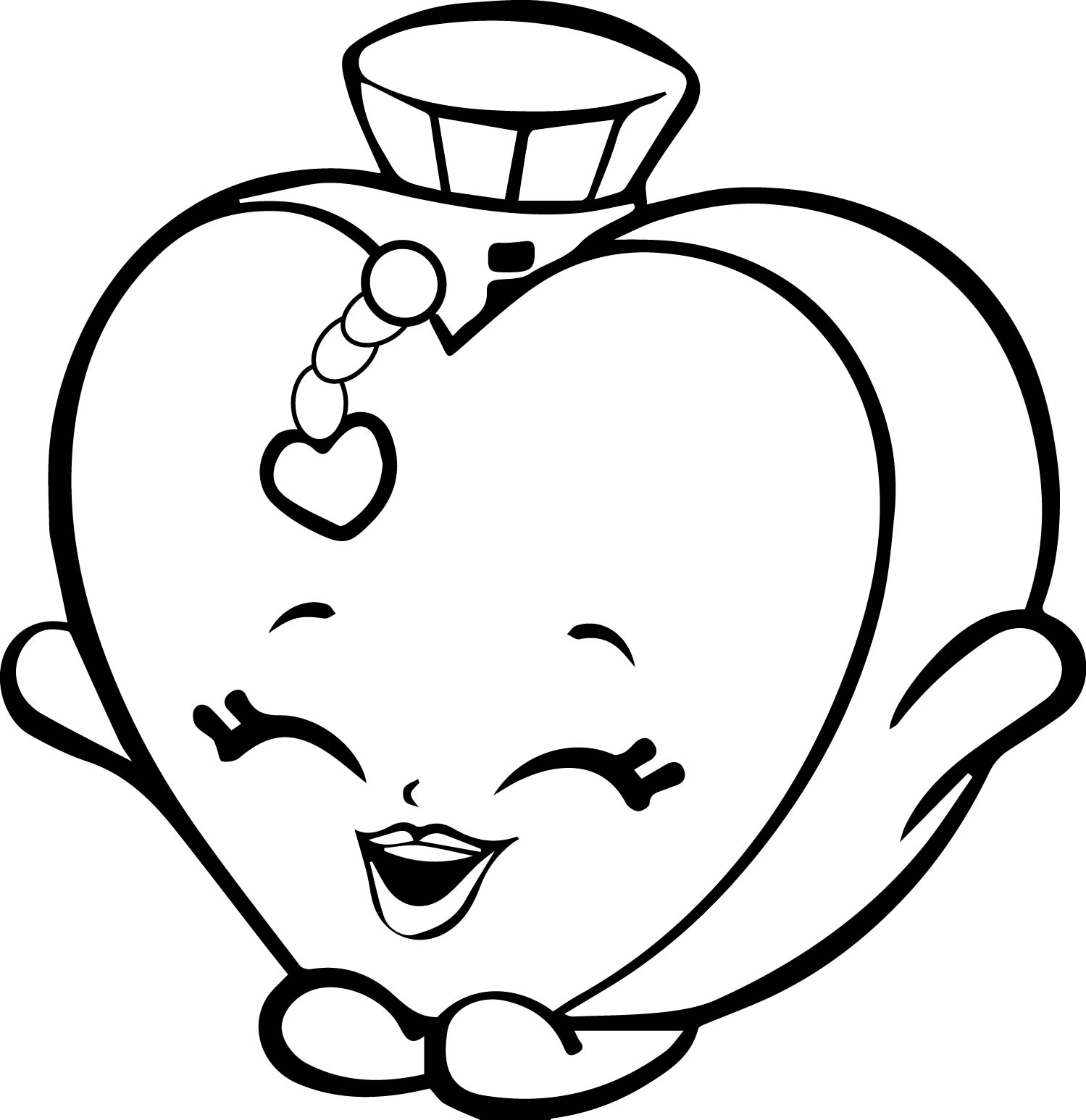 1499x1546 Charming Decoration Shopkins Coloring Pages Cheeky Chocolate Page