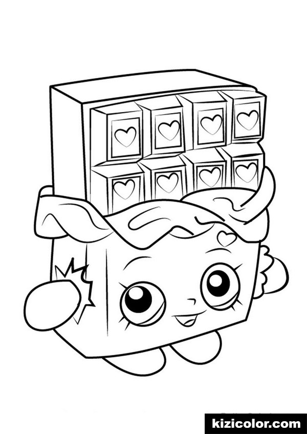 600x848 Cheeky Chocolate From Shopkins Pages