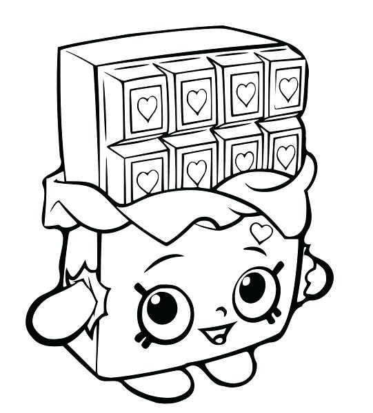 541x600 Shopkins Coloring Pages Limited Sally Scent Coloring Page Shopkins