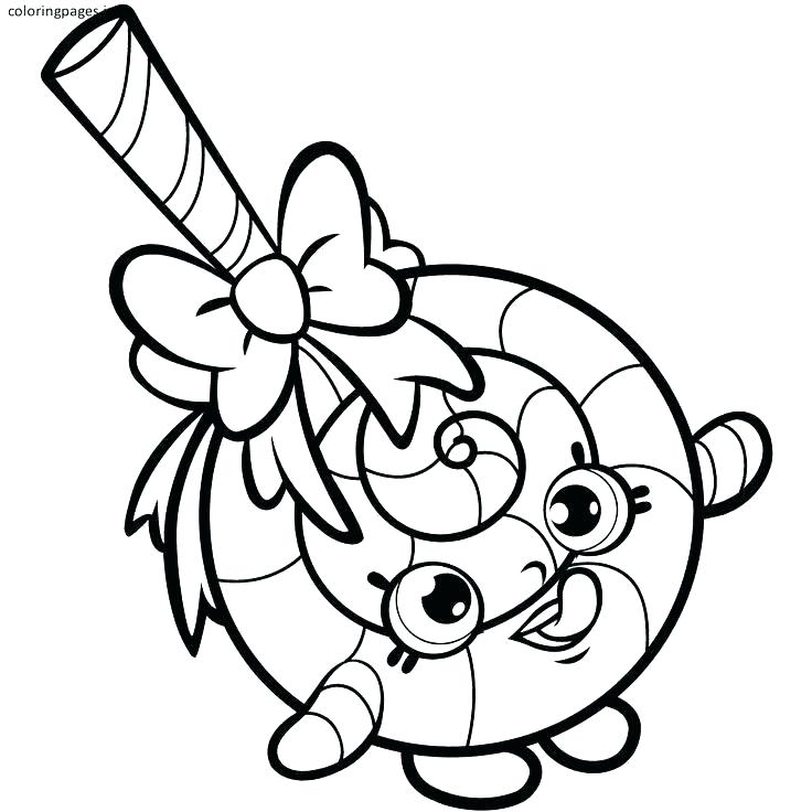 736x736 Shopkins Coloring Pages Pdf Coloring Pages Kooky Cookie Shopkins