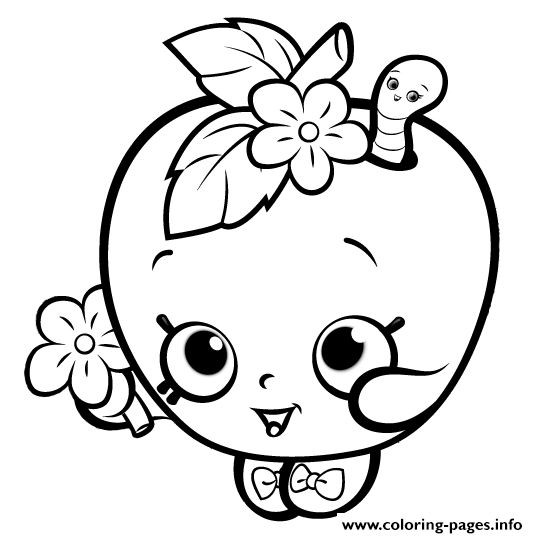 538x538 Shopkins Kooky Cookie Coloring Page Fresh Shopkins Coloring Pages