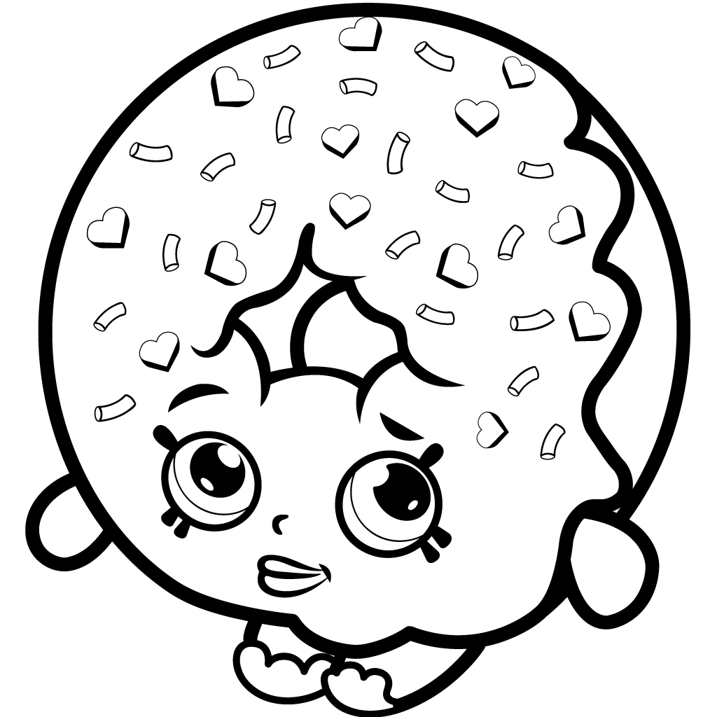 1024x1024 Printable Shopkins Coloring Pages