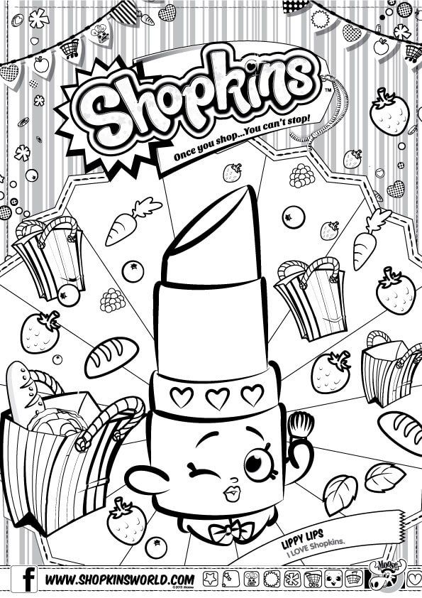 595x842 Best Colouring Shopkins Images On Coloring Sheets