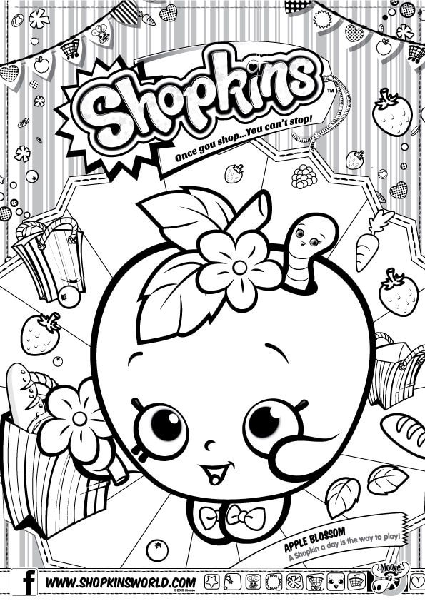 595x842 Shopkins Coloring Pages Cupcake Queen