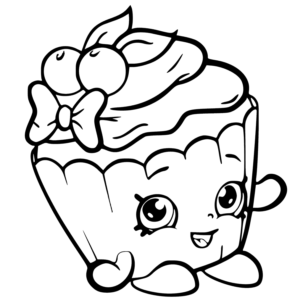 1024x1024 Best Of Shopkins Coloring Pages Cupcake Queen Collection