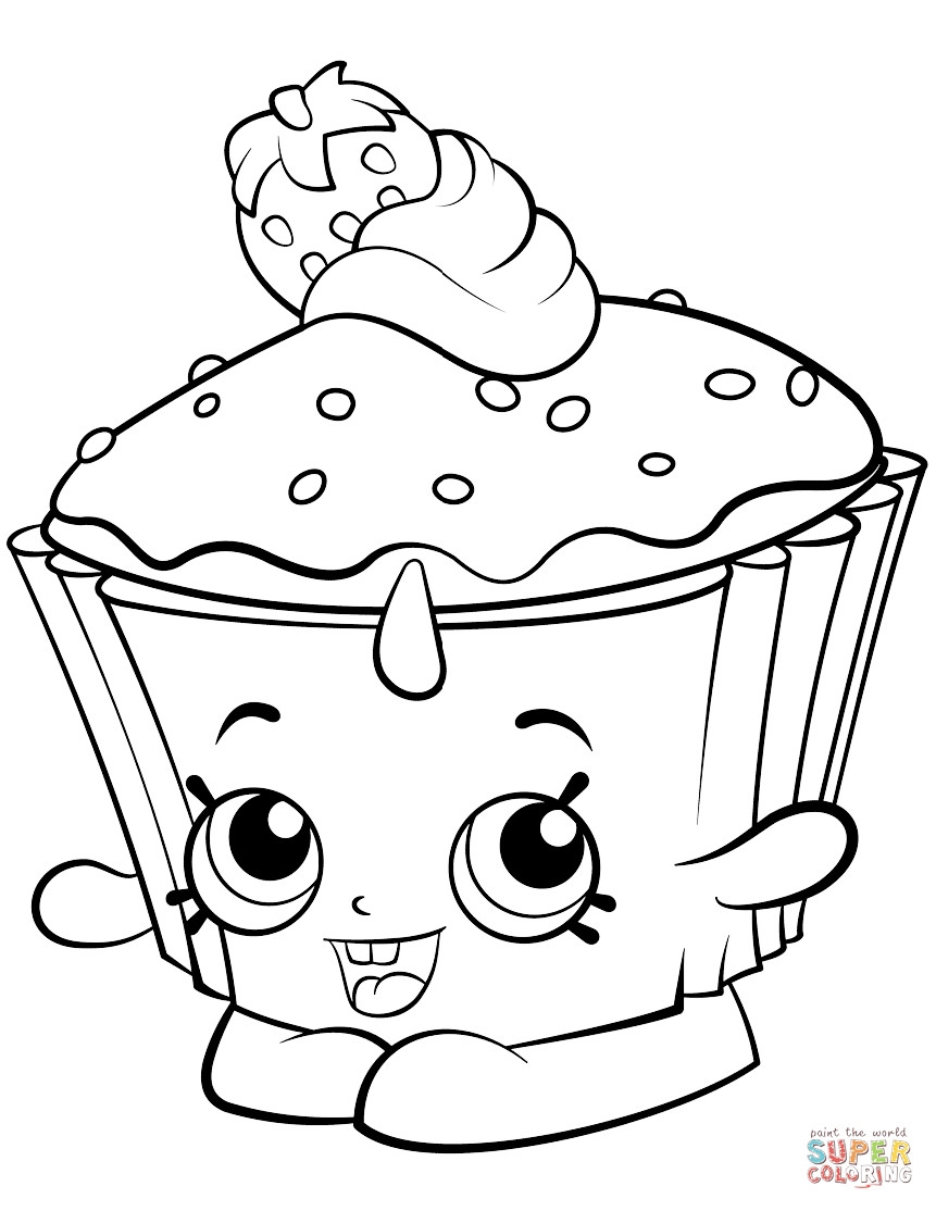 861x1114 Birthday Cupcake Coloring Page Pages For Kids And Fine Cupcakes