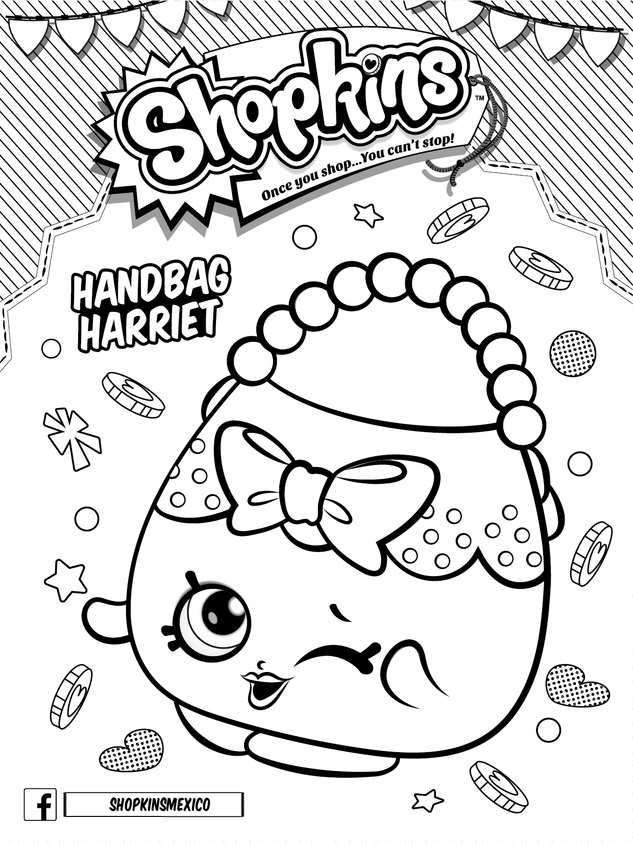1240x1654 Shopkins Coloring Pages Girl B Day Party Download