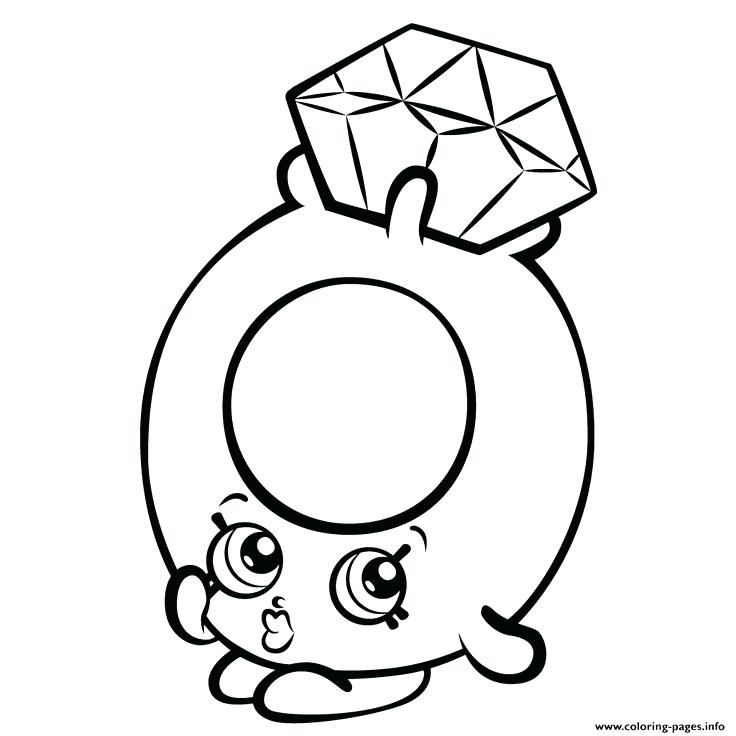 736x736 Shopkins Coloring Pages To Print Related For Cute Coloring Pages
