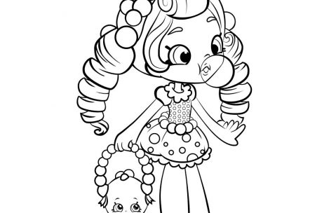 469x304 Shopkins Coloring Pages For Girls Just Colorings