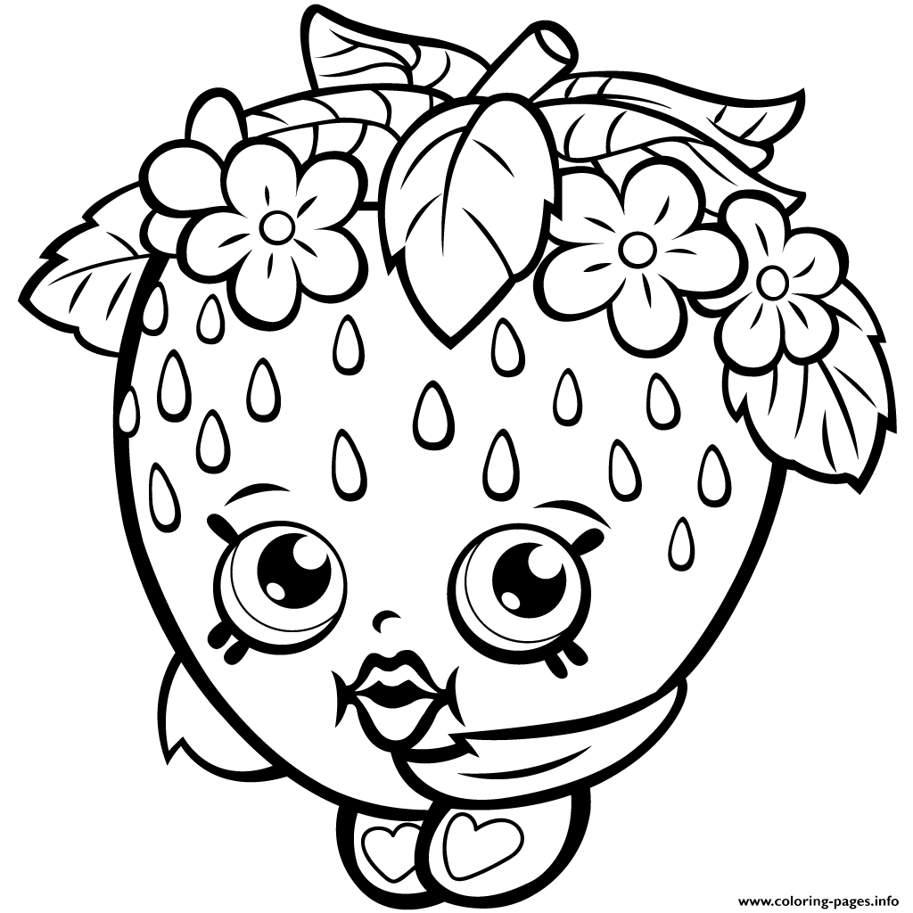 Shopkins Coloring Pages Free Printable at GetDrawings ...
