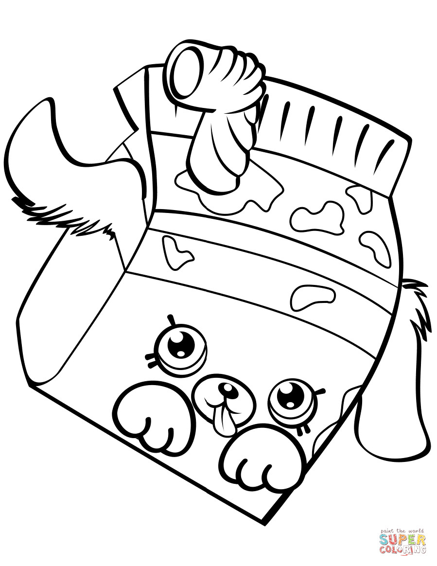 899x1164 Milk Bud Shopkin Coloring Page Shopkins Pages Limited Edition
