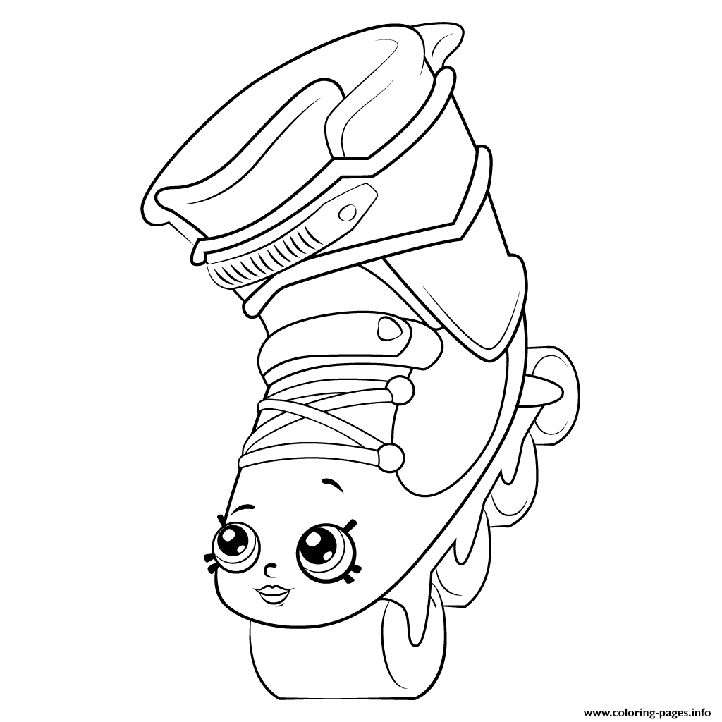 1024x1024 Rollerblades Shopkins Season Coloring Pages Printable
