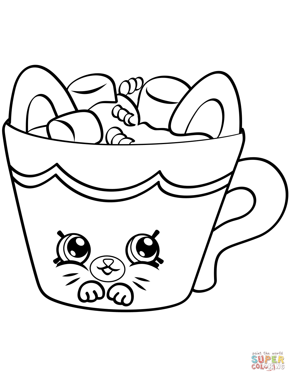 1017x1316 Shopkins Coloring Pages Limited Editions Collections