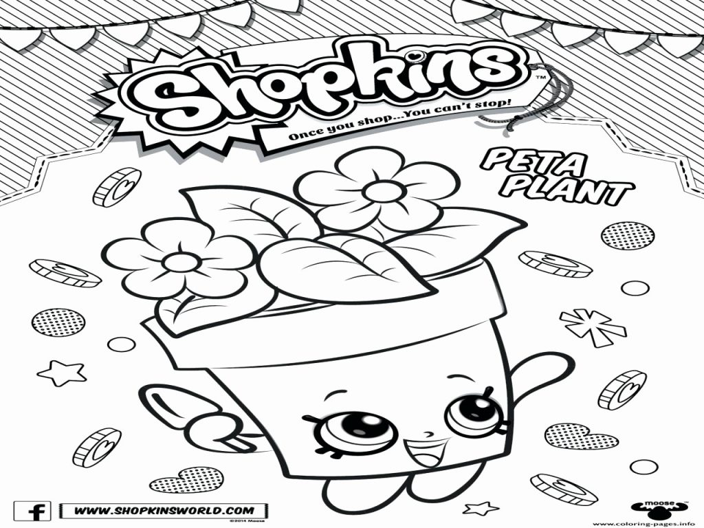 1024x768 Inspirational Of Limited Edition Shopkins Coloring Pages Image