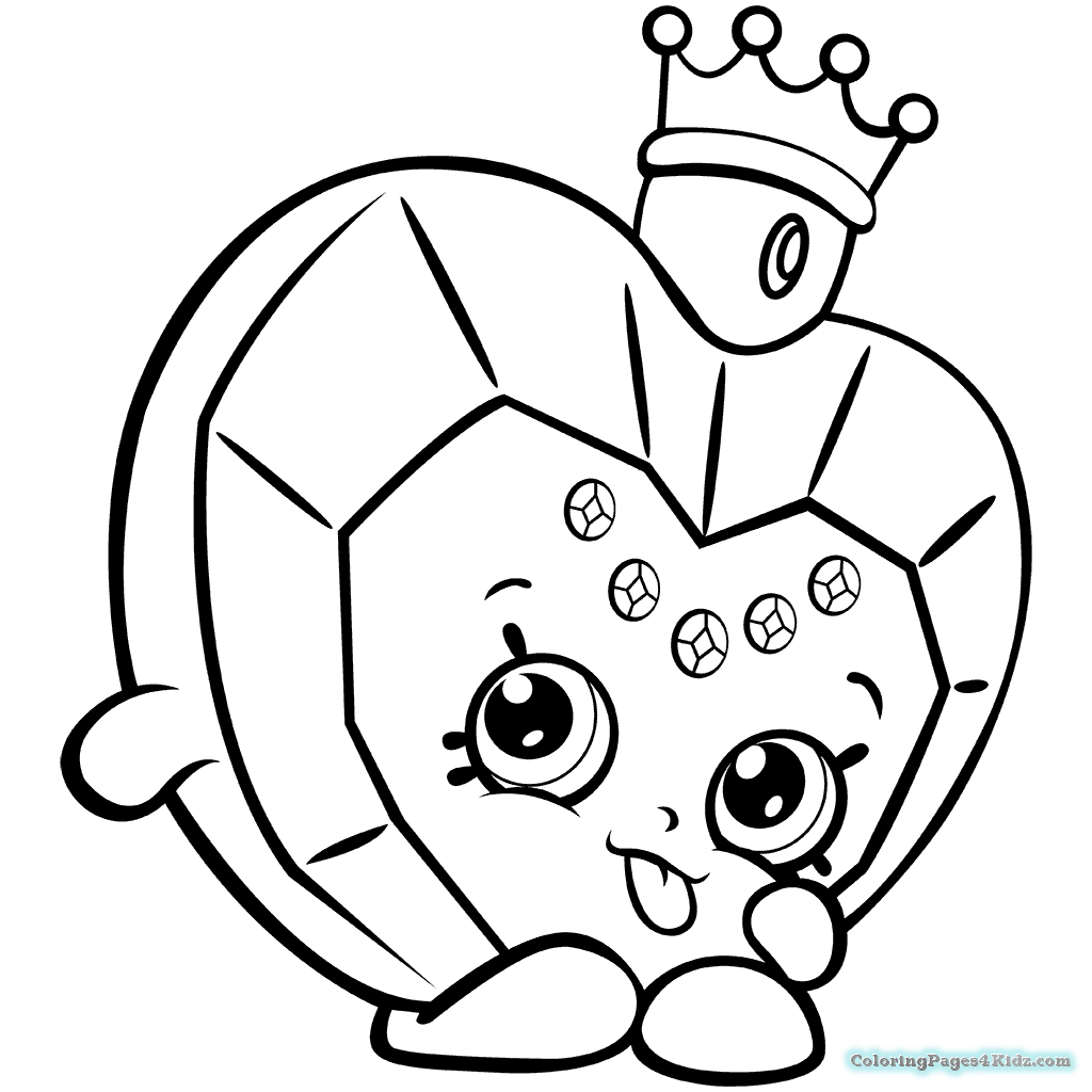 1024x1024 Shopkins Coloring Pages Season Limited Edition Coloring Pages
