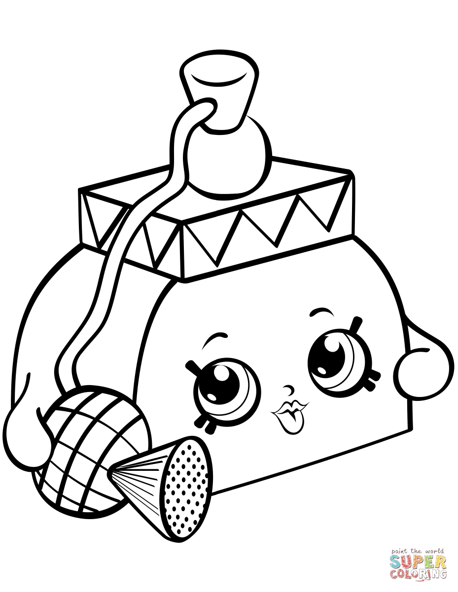 929x1202 Shopkins Coloring Pages Season Limited Edition Download
