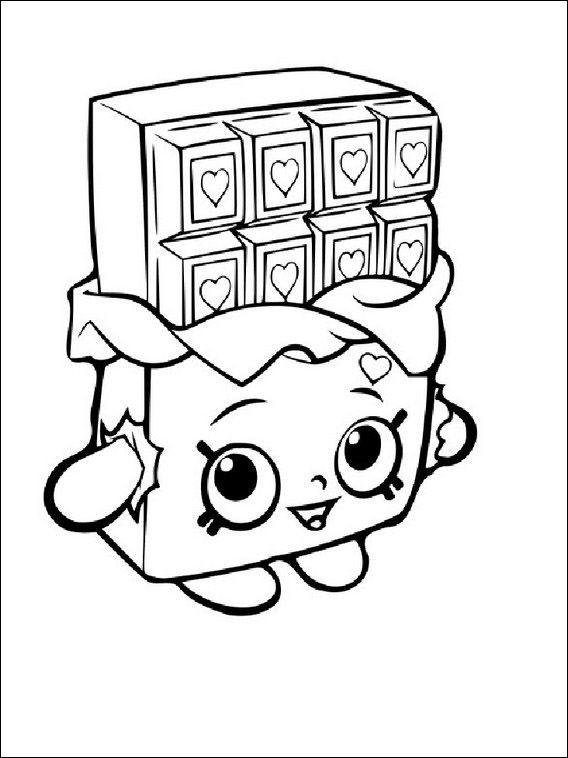 568x758 Shopkins Coloring Pages Free Printable New Shopkins Tegninger Til