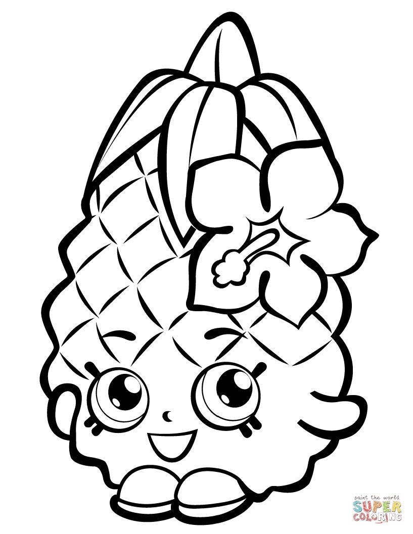 817x1057 Shopkins Coloring Pictures Printable Free Coloring Sheets