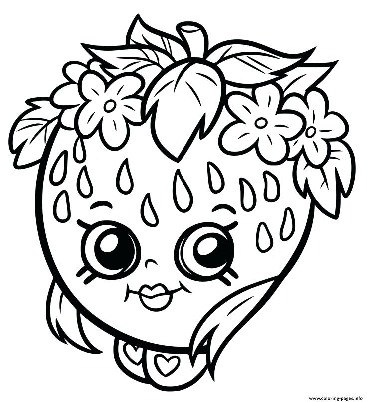 736x806 Elegant Shopkins Coloring Pages Print Free For Pictures