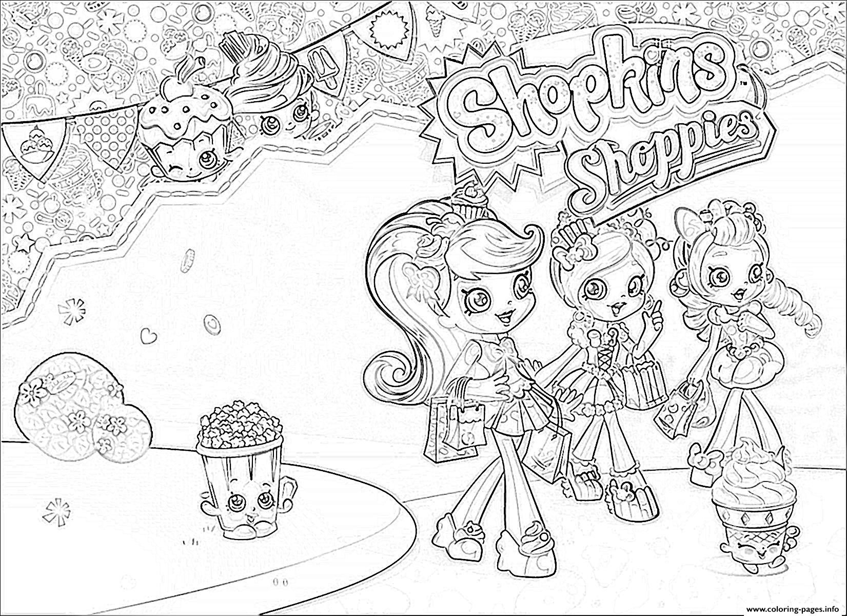 1651x1200 Shopkin Coloring Pages That You Can Print Inspiration Shopkins