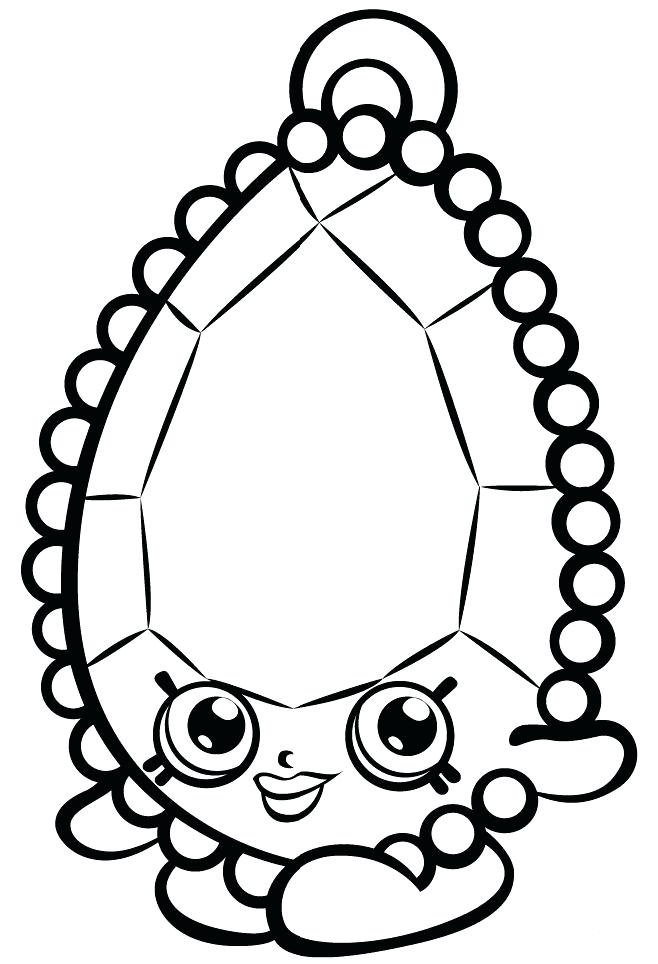 Shopkins Coloring Pages Printables At Getdrawings Free Download