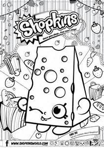 Shopkins Coloring Pages Season 3