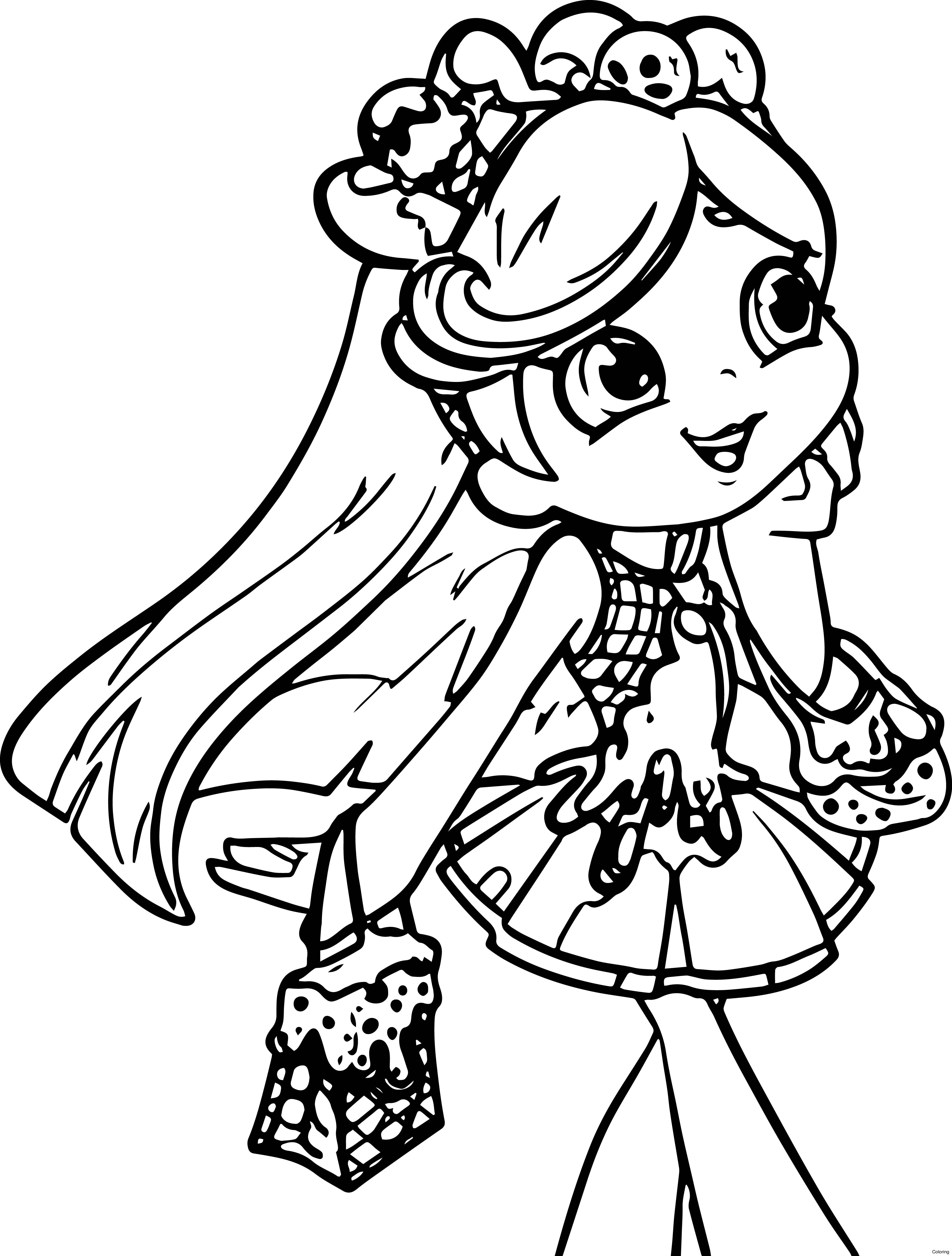 Shopkins Coloring Pages Season 3 At Getdrawings Com Free For